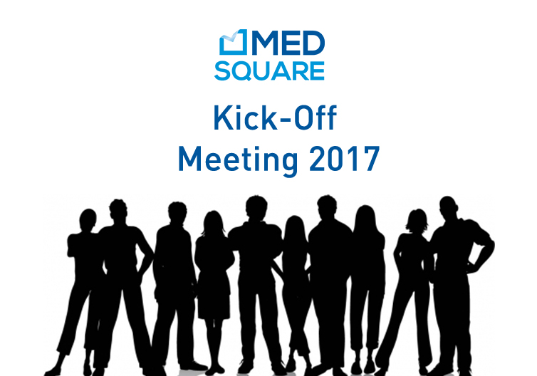 Medsquare gathered at the Kick-Off Meeting 2017