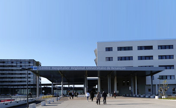 The University Hospital of Besançon selected Radiation Dose Monitor (RDM)'s solution