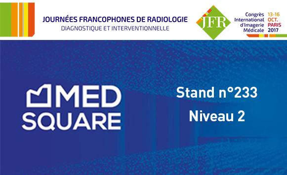Medsquare aux JFR 2017: nouvelles fonctionnalités RDM et directive 2013/59/Euratom