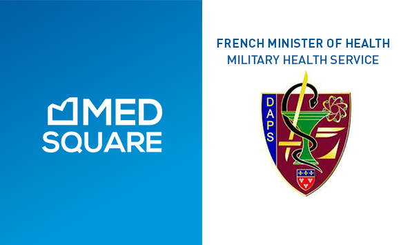 Medsquare selected by the French Minister of Health – Military health service