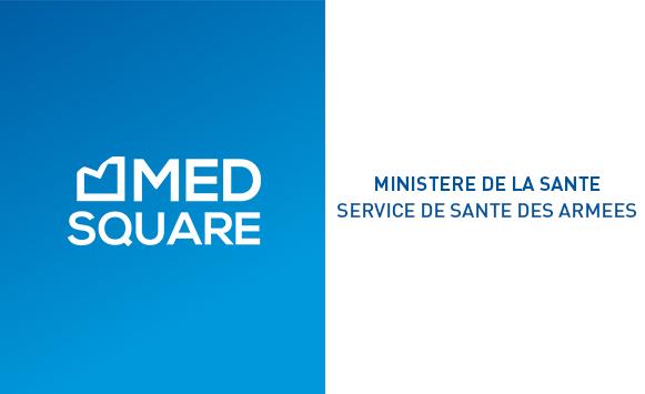 Medsquare choisi par le ministère de la santé – service de santé des armées