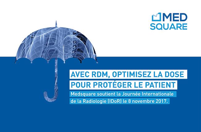 Medsquare soutient la 6e Journée Internationale de la Radiologie (IDoR2017)