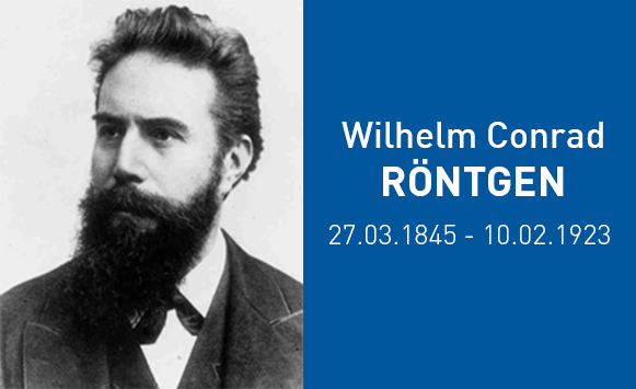 Did you know ? 10 February marks the anniversary of the death of Wilhelm Röntgen