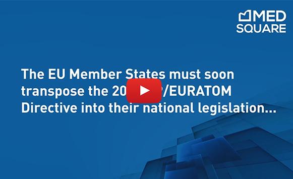 RDM and Euratom 2013/59