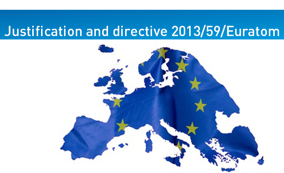 Justification: Directive 2013/59/Euratom strengthens  this pillar of patient radiation safety