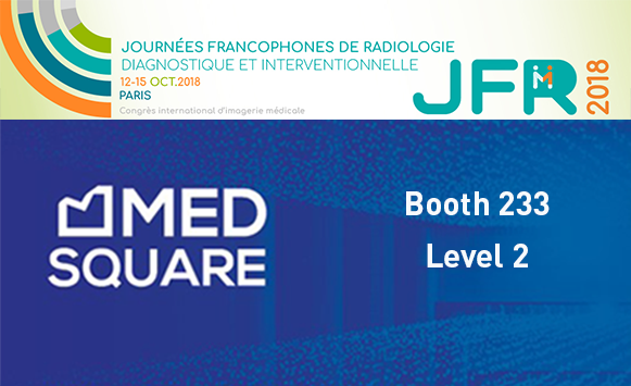 Medsquare and Patient Dose Management at JFR 2018:  Presenting the latest features of RDM