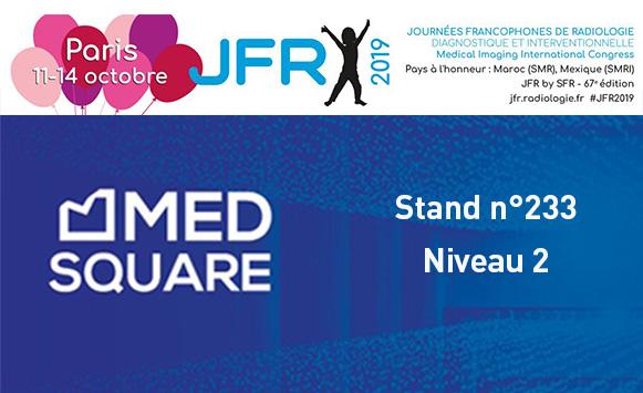 Medsquare et la dosimétrie patient aux JFR 2019 :  les dernières nouveautés de RDM