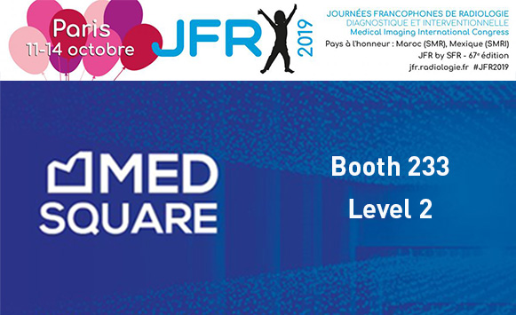 Medsquare and Patient Dose Management at JFR 2019:  Presenting the latest features of RDM