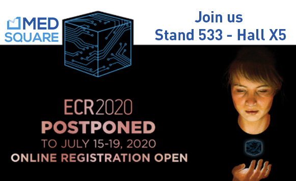 Medsquare and Patient Dose Management at ECR 2020:  Presenting the latest features of Radiation Dose Monitor (RDM)